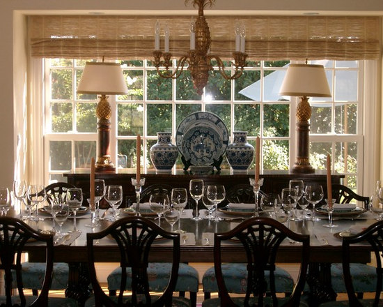 british colonial dining room | houzz