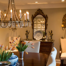 Traditional Dining Room by Kathleen Burke Design