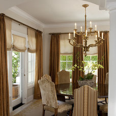 Traditional Dining Room by Kathy Bloodworth Interior Design