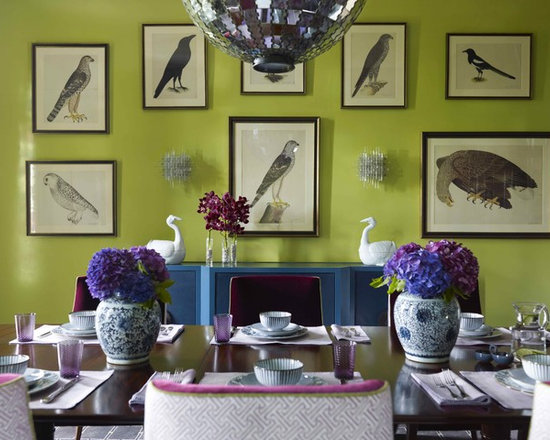 blue and green decor | houzz