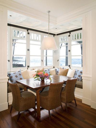 Beach Style Dining Room by Sutton Suzuki Architects