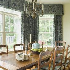 Rustic Dining Room by Kingsley Belcher Knauss, ASID