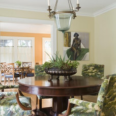 Traditional Dining Room by Kingsley Belcher Knauss, ASID