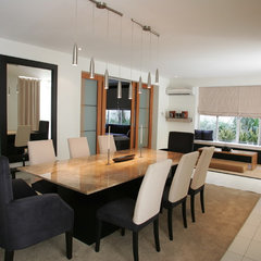 contemporary dining room by Karen Maximo-Fernando