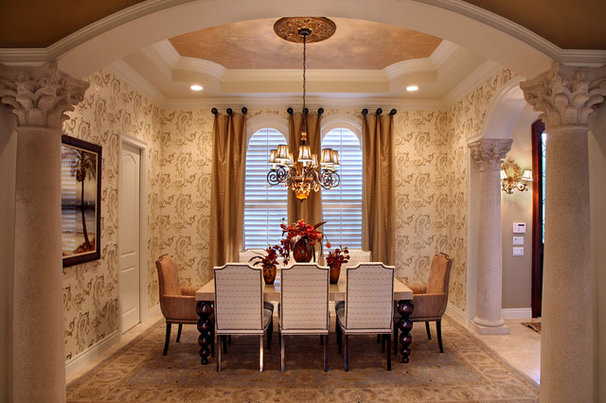 Traditional Dining Room by KDS Interiors, Inc.