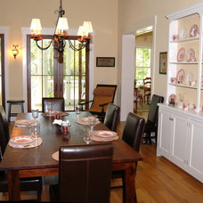 Traditional Dining Room by Cole Design Studio, LLC