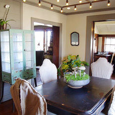Industrial Dining Room by Emily Winters