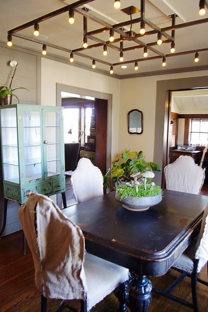 contemporary dining room by Emily Winters