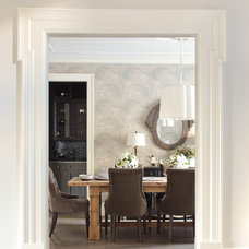 Traditional Dining Room by Kelly Deck Design