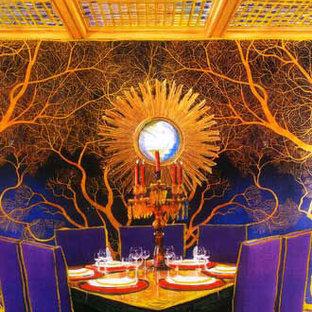 Idee per una sala da pranzo bohémian