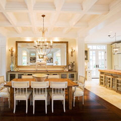 traditional dining room by R.S. Stapleton Company - Custom Cabinetry