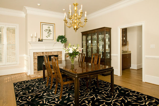 Traditional Dining Room by Rinehart Custom Homes