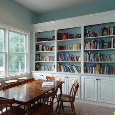 Traditional Dining Room by Kempsville Cabinets