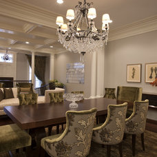 Traditional Dining Room by Michael Abrams Limited