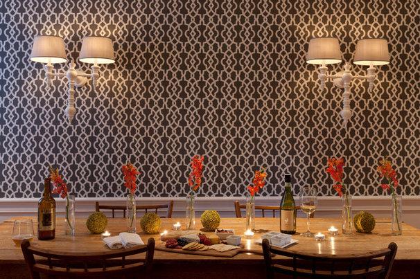 Contemporary Dining Room by Rachel Reider Interiors