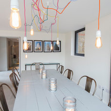 Contemporary Dining Room by Joel Antunes photography