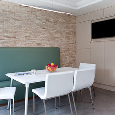 Contemporary Dining Room by Living in Space