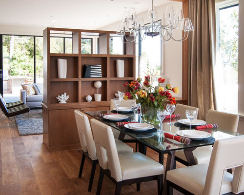 Between living and dining room houzz for Best dining rooms houzz
