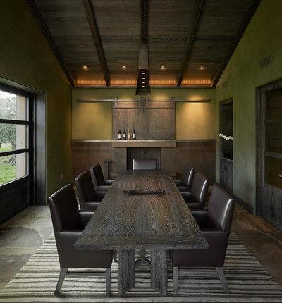 Contemporary Dining Room by E C Schmitt & Company