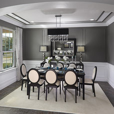 Traditional Dining Room by Meritage Homes