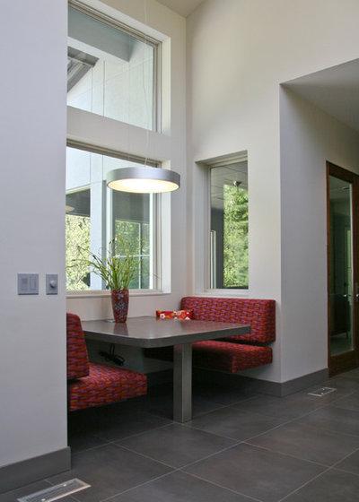 Contemporain Salle à Manger by Visbeen Architects