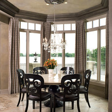 Traditional Dining Room by kevin akey - azd architects - michigan