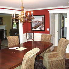 Traditional Dining Room by kevinallencarpentry.com