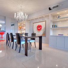 Contemporary Kitchen by Corners Interior Design, LLC.