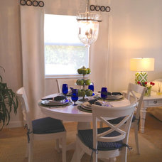 Beach Style Dining Room by Interiors by Maite Granda
