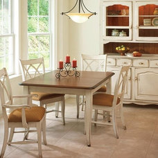 Traditional Dining Room by DutchCrafters Amish Furniture