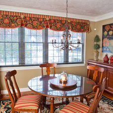 Traditional Dining Room by KH Window Fashions, Inc.