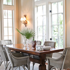 traditional dining room by Margaret Donaldson Interiors
