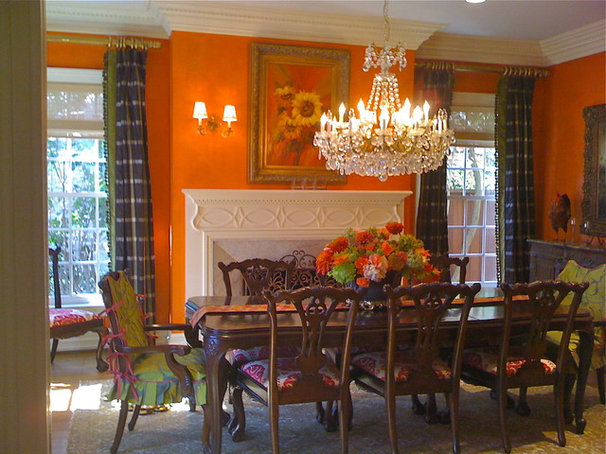 Traditional Dining Room by Kim Armstrong