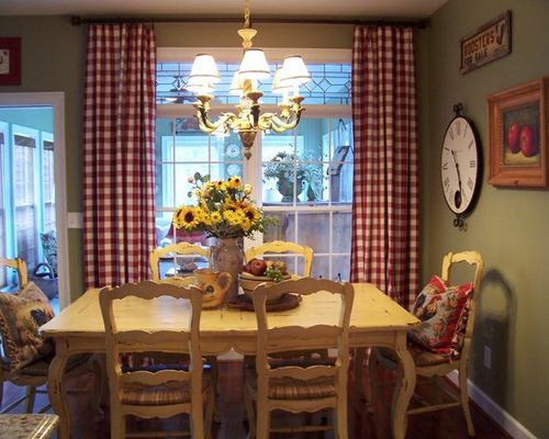 french country dining room decorating houzz - Country Dining Room Design