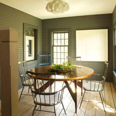 Farmhouse Dining Room by JAMES DIXON ARCHITECT PC