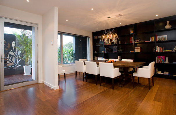 Modern Dining Room by Design Unity