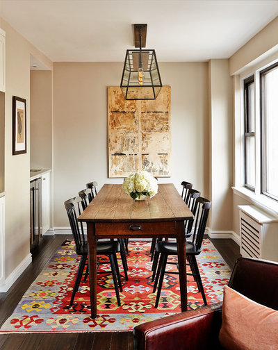 Traditional Dining Room By Rae McConville Interiors LLC