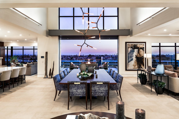 Contemporary Dining Room by Spinnaker Development