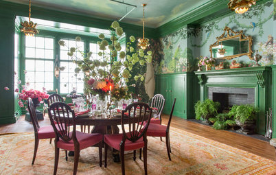 Eye-Catching Color and Pattern in the 2017 Kips Bay Show House