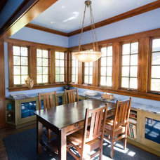Traditional Dining Room by Roberts Construction