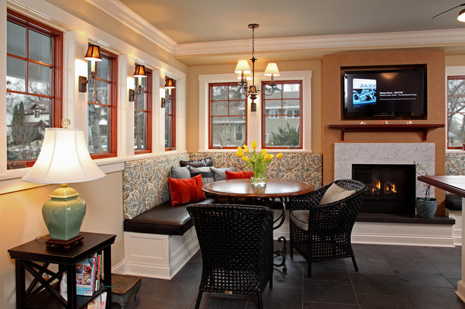 Traditional Dining Room by Home Tailors Building & Remodeling