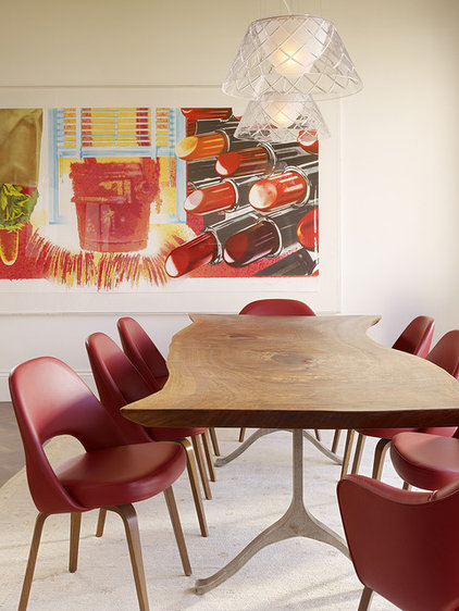 Modern Dining Room by Chloe Warner