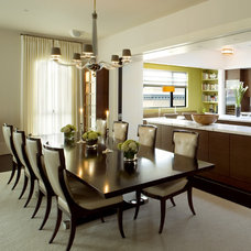 Traditional Dining Room by BCV ARCHITECTS