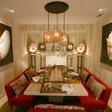 Tropical Dining Room by CDI: Choice Designs, Inc.
