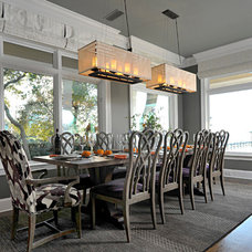 Eclectic Dining Room by Dalrymple | Sallis Architecture