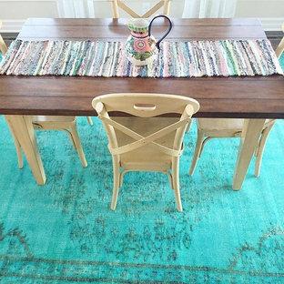 Стильный дизайн: столовая в стиле кантри - последний тренд