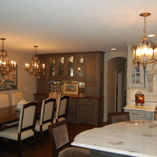 Traditional Dining Room by Rose Hall Kitchen Galleria