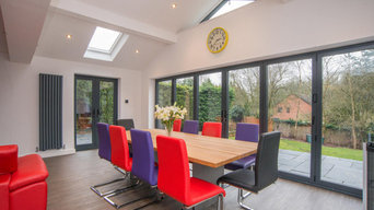 Kitchen and family room extension