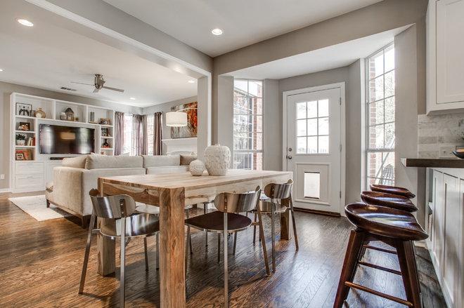 Transitional Dining Room by RN Interior Design
