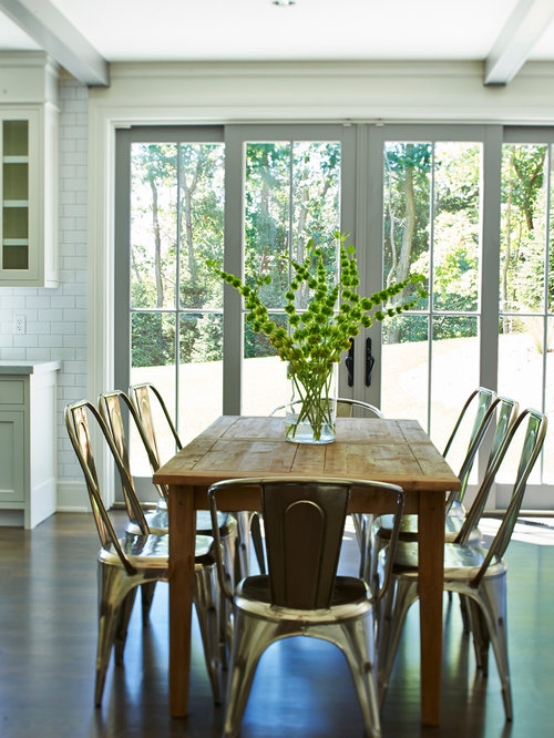 Metal Dining Chairs Houzz